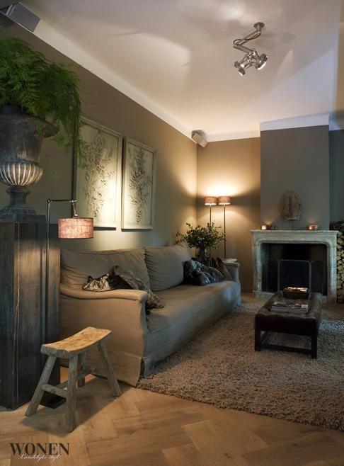 ☆gezellige woonkamer - Ideeën voor het huis | Pinterest - Landelijk ...