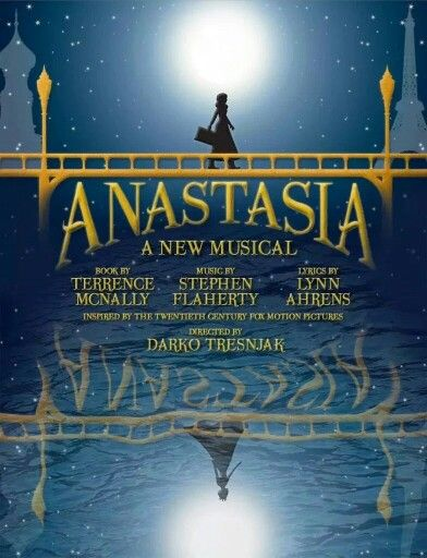 Yes! It's happening <3 ANASTASIA a New Musical ^^
