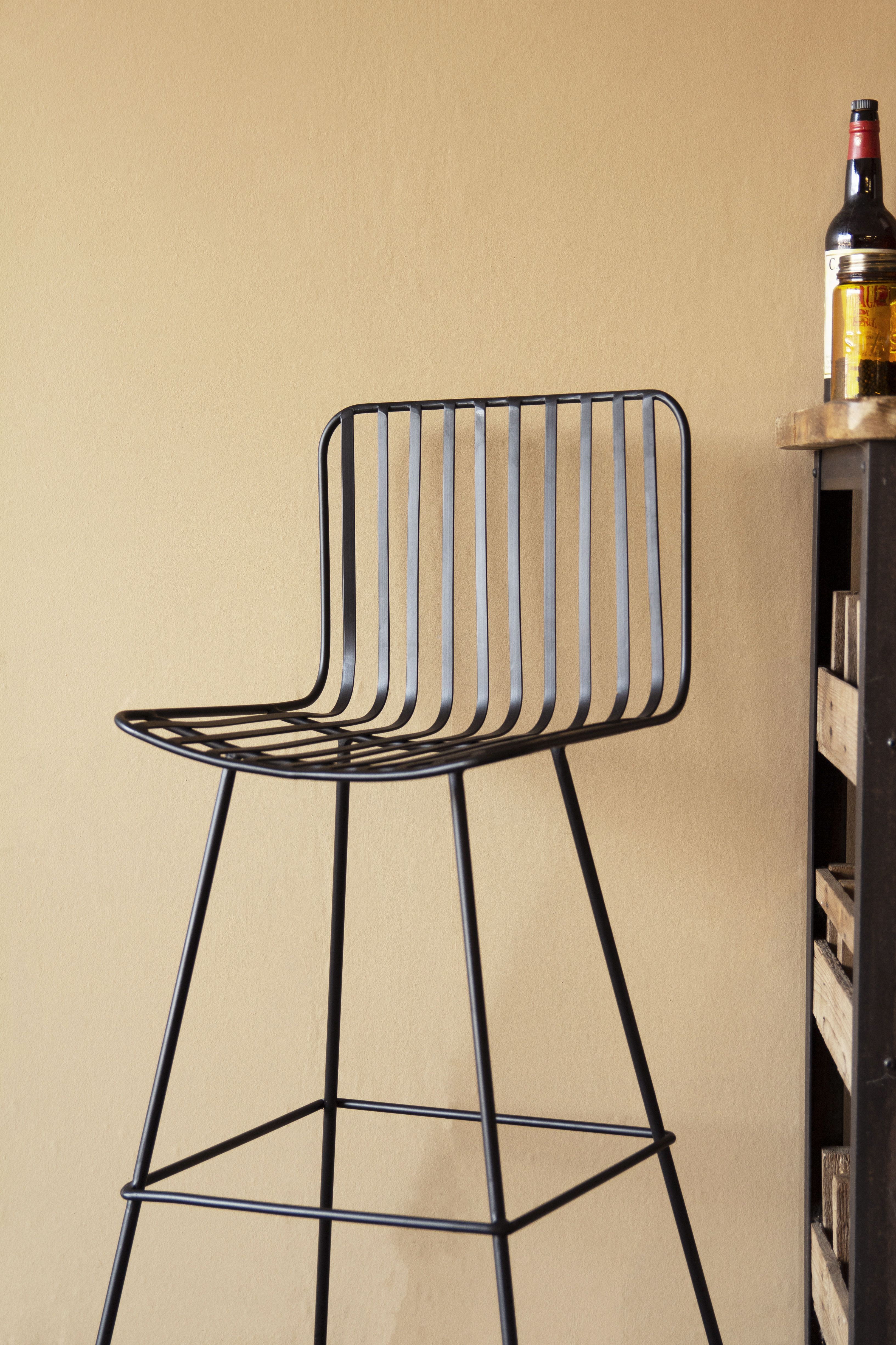 Miraculous Nero Black Metal Bar Stool In 2019 Ss19 Interior Trends Ncnpc Chair Design For Home Ncnpcorg