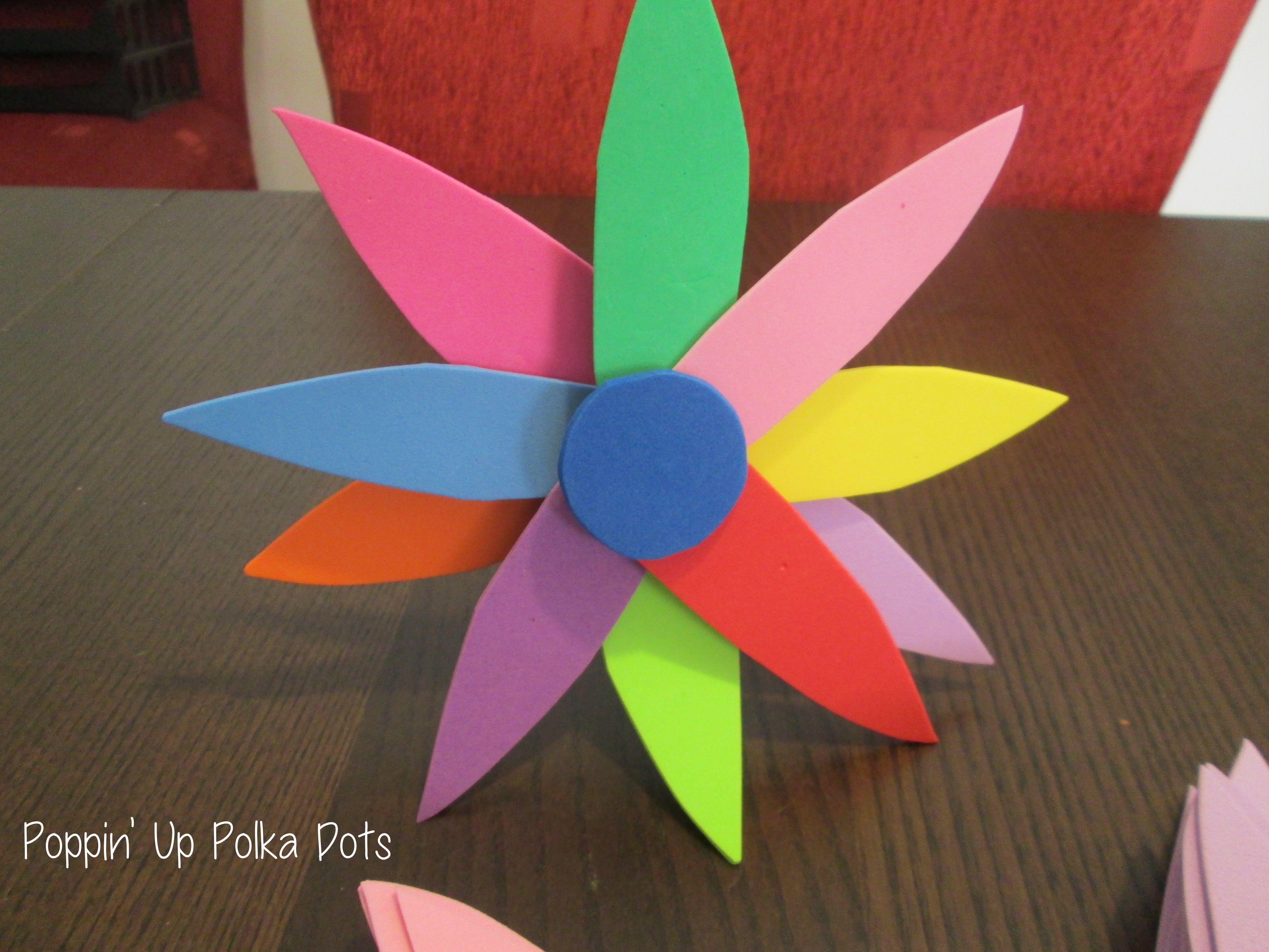 Daisy Flower Petal Craft Girl Scouts Girl Scouts Pinterest