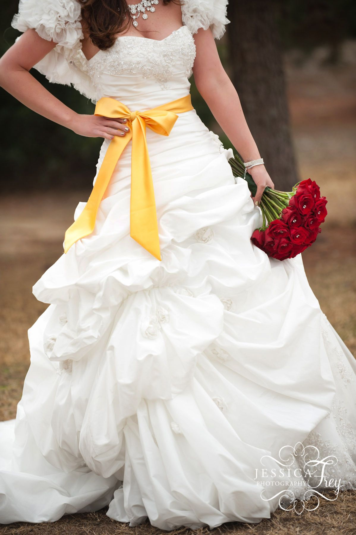 Beauty And The Beast Bridesmaid Dresses: Beauty And The Beast Belle Wedding Dress