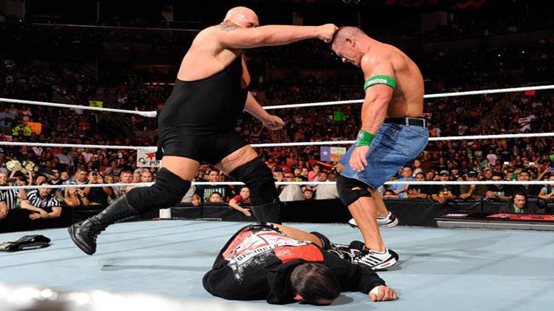 Big Show and John Cena Fight in WWE HD Wallpapers of