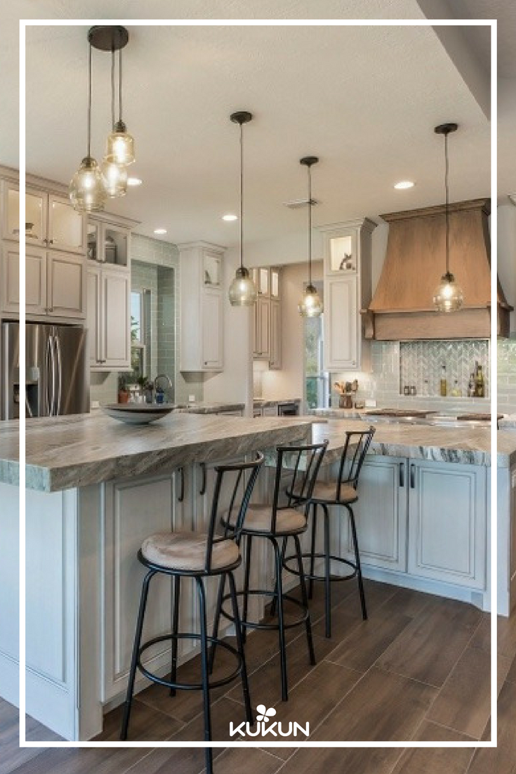 This Amazing Kitchen With A Gorgeous Bronze Range Hood And