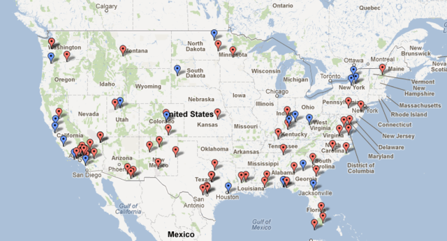 Public Intelligence identifies 64 aerial drone bases in the US ...