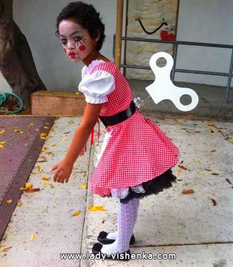 Doll Costume For A Little Girl Halloween Costume Ideas Halloween