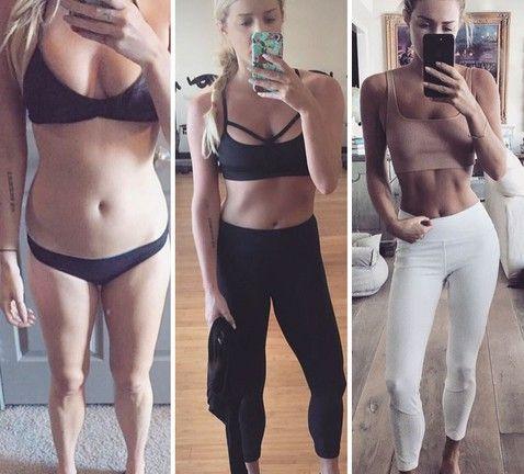 картинки похудевших до и после