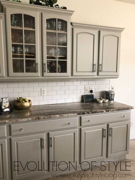 Mindful Gray Kitchen Cabinets - Evolution of Style