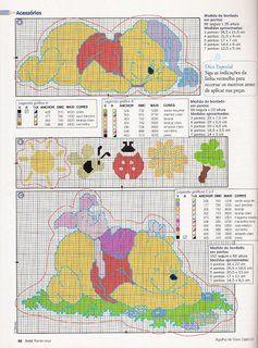 Lenzuola Winnie The Pooh.Winnie Il Sognatore Cross Stitch Cross Stitch Cross Stitch