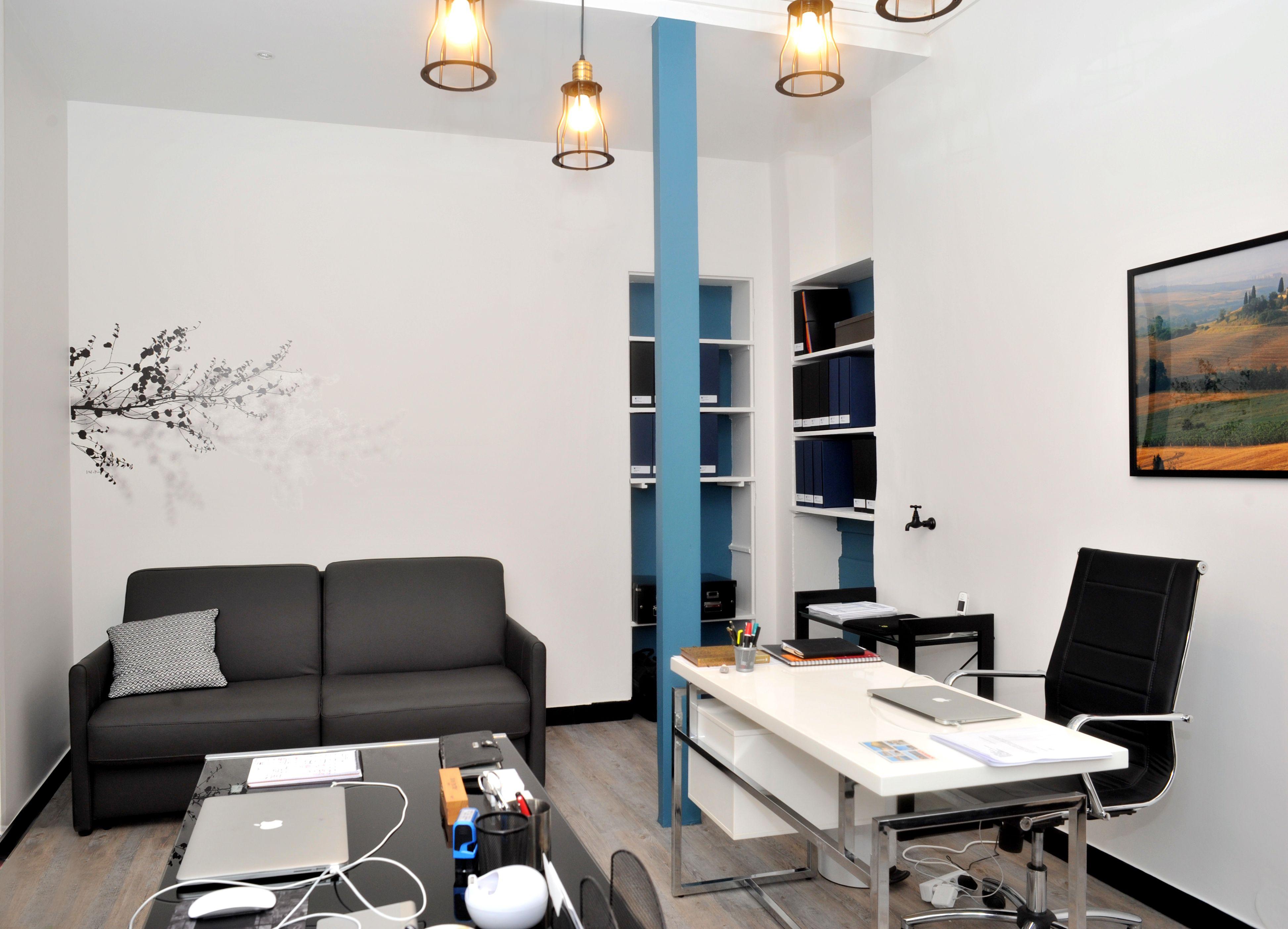 Décoration bureaux cabinet recrutement paris è rénovation
