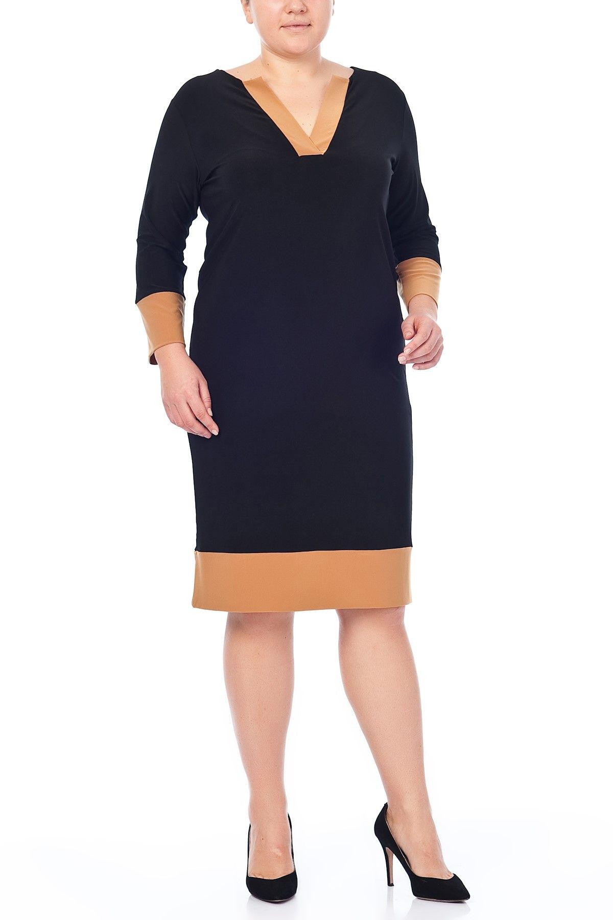Buyuk Beden Siyah Elbise 65n2020 Siyah Elbise Moda Stilleri Elbise