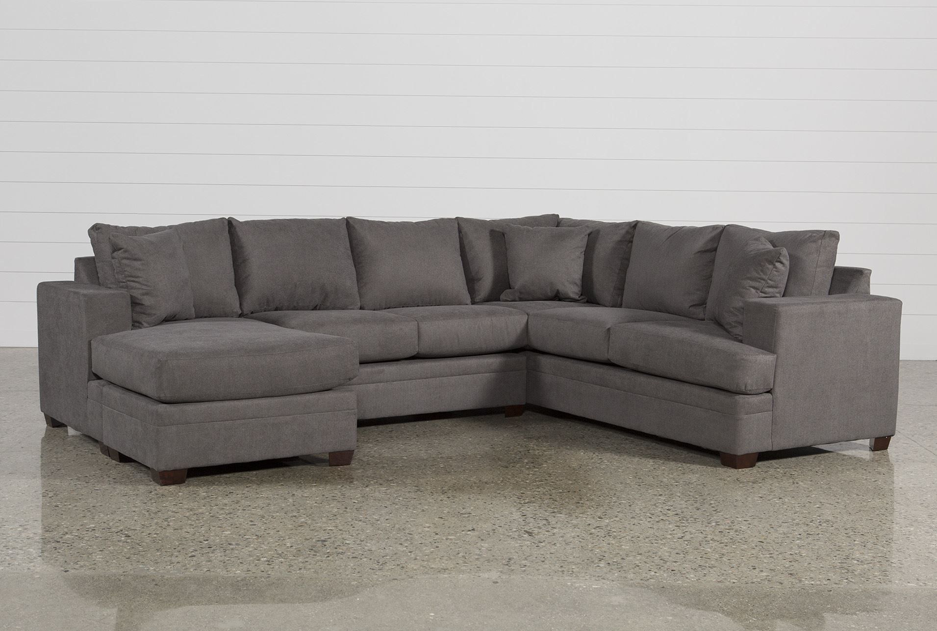 Kerri 2 Piece Sectional W Laf Chaise