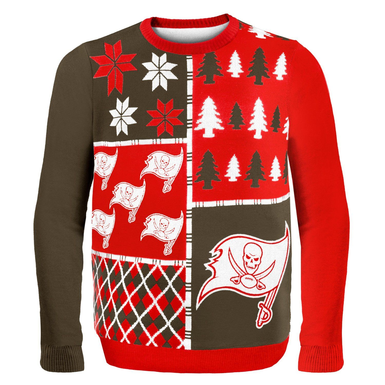 online store 3938c 3fcb1 NFL Busy Block Ugly Sweater - Tampa Bay Buccaneers | NFL-NFC ...