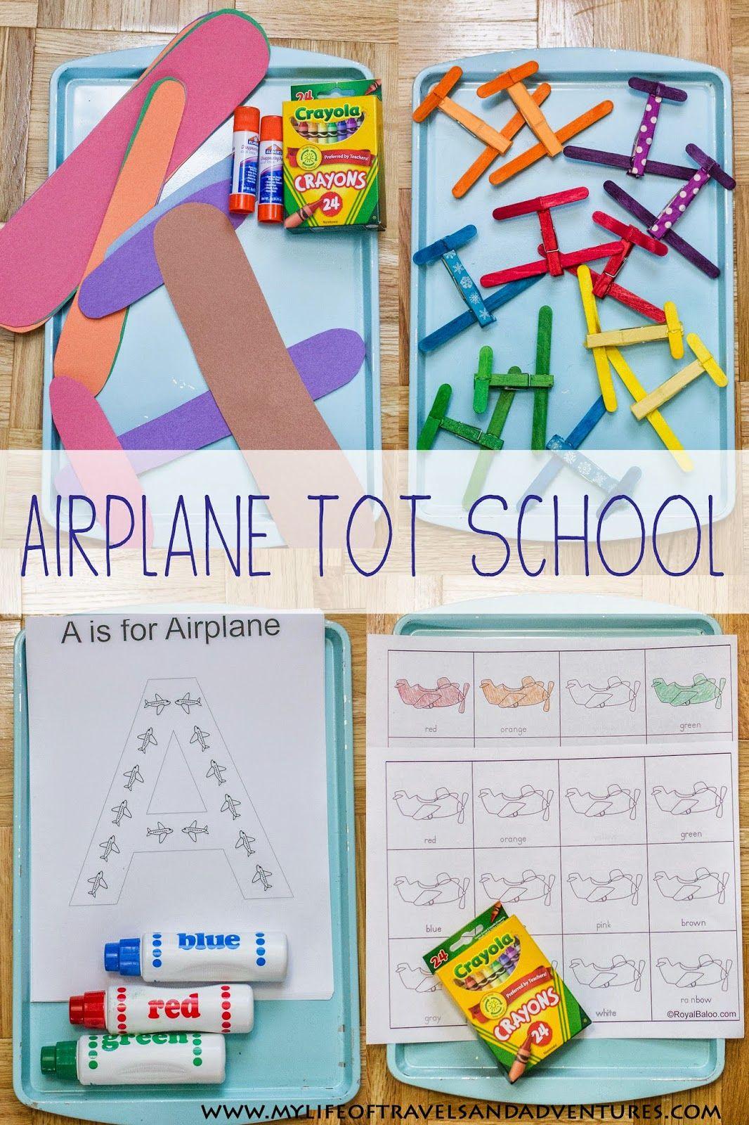 Airplane Tot School