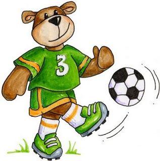 osos haciendo deporte para imprimir  Ilustraciones  Pinterest