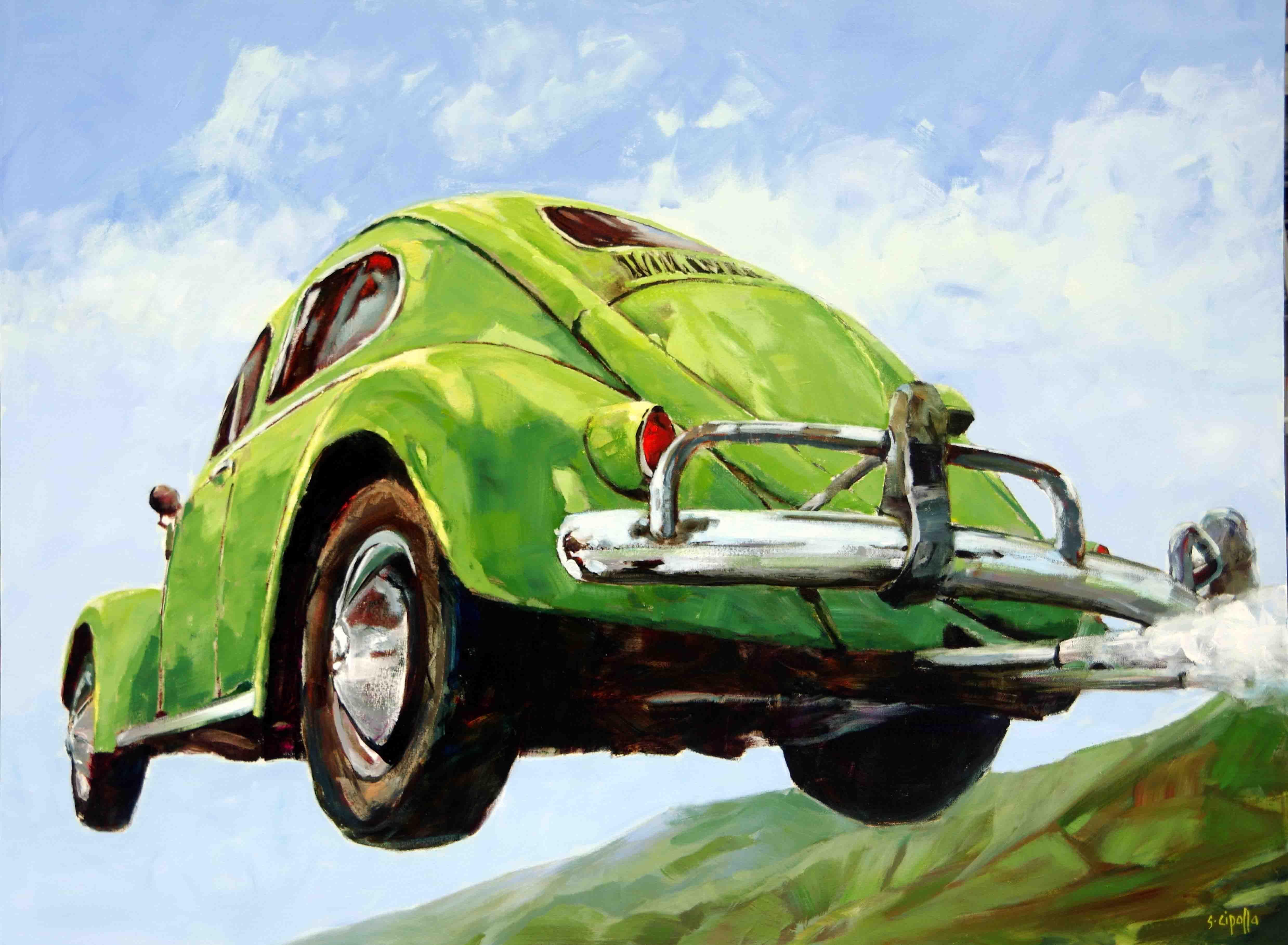 Volkswagon painting art