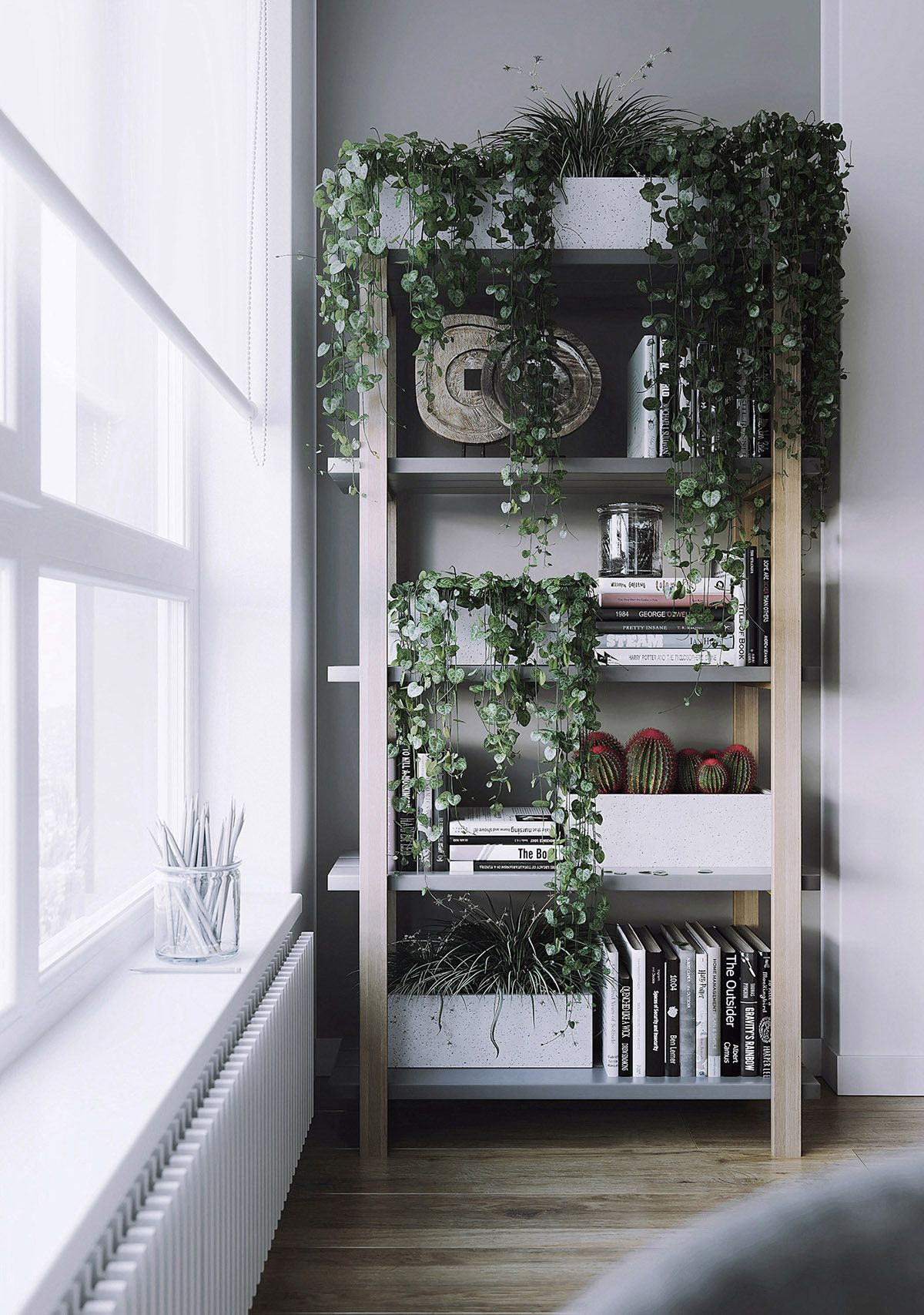 Interiors That Use Plants As Part Of The Palette With Images