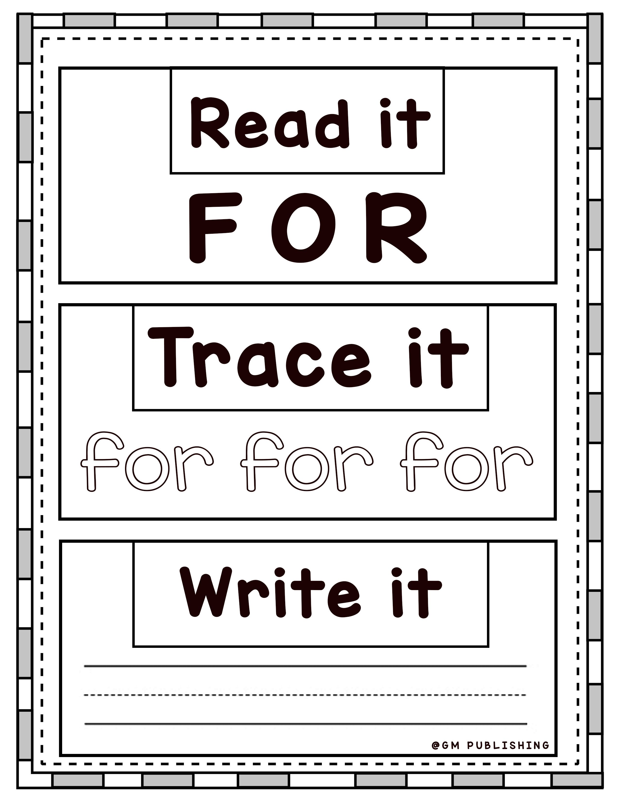 Tracing Writing For Grade 1 Workbook Worksheet In