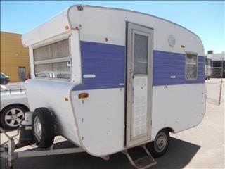 Australian Vintage Viscount Caravan Original Condition | Campers