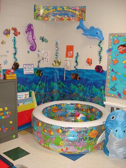 Classroom Themes Ocean Con Imagenes Decoracion De Aulas