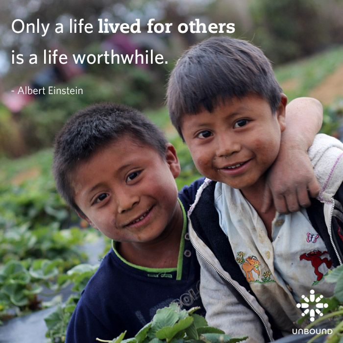 Only a life lived for others is a life worthwhile.... # ...