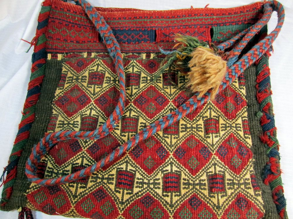 e890faa79d Authentic 1940..50s Middle Eastern possibly Turkish Camel Saddle Bag ...