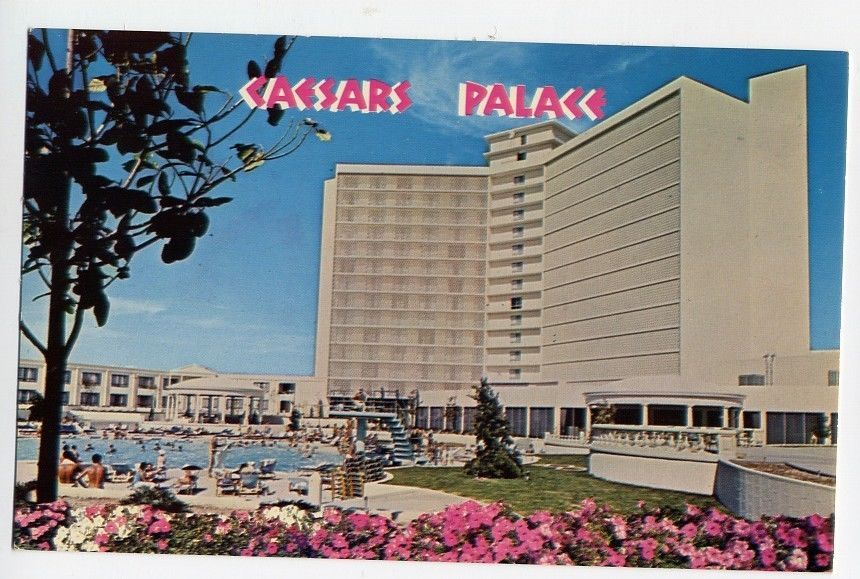 ORIGINAL OLD STOCK VINTAGE LAS VEGAS NEVADA USA STRIP MGM HOTEL CASINO POSTCARD
