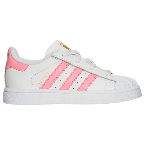 Girls' Toddler adidas Superstar Casual Shoes | What Lacey
