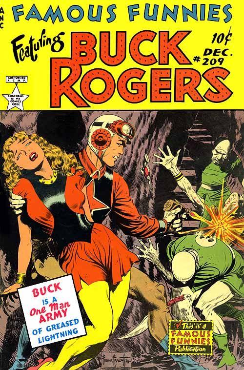 Frank Frazetta - Buck Rogers
