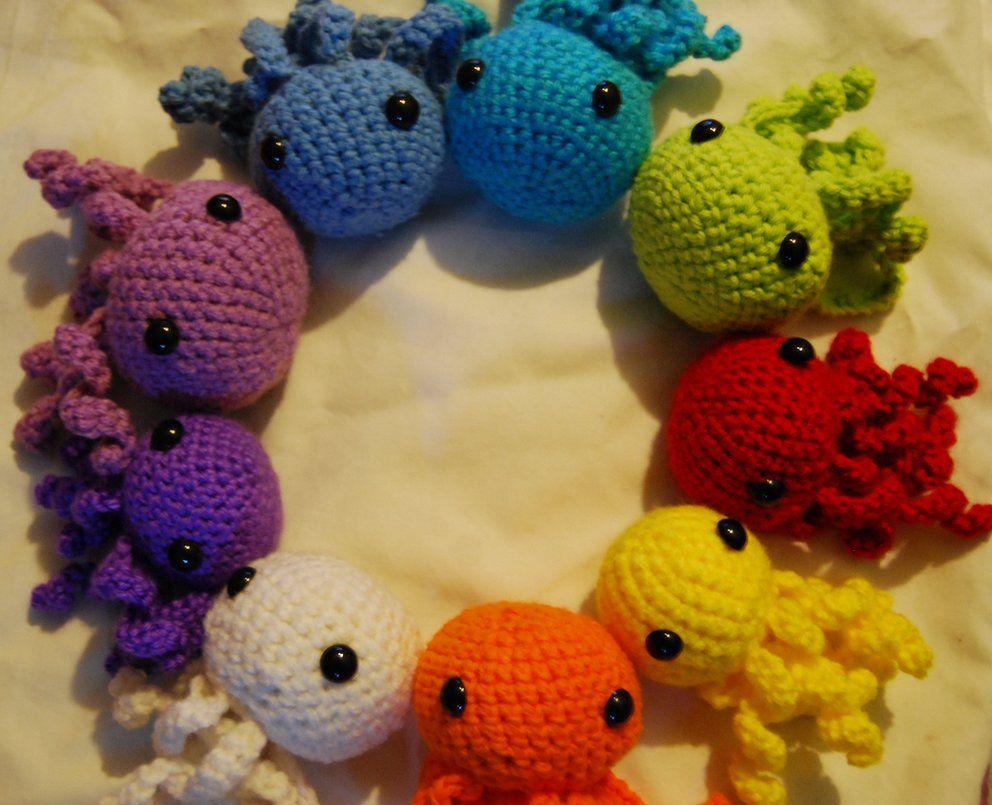 a1e8eccd9af Crochet Amigurumi Octopus by LupaAkarii on DeviantArt