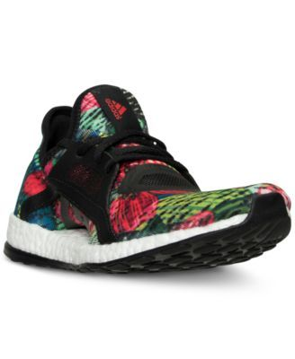 adidas Women's Pure Boost X Print Running Sneakers from Finish Line