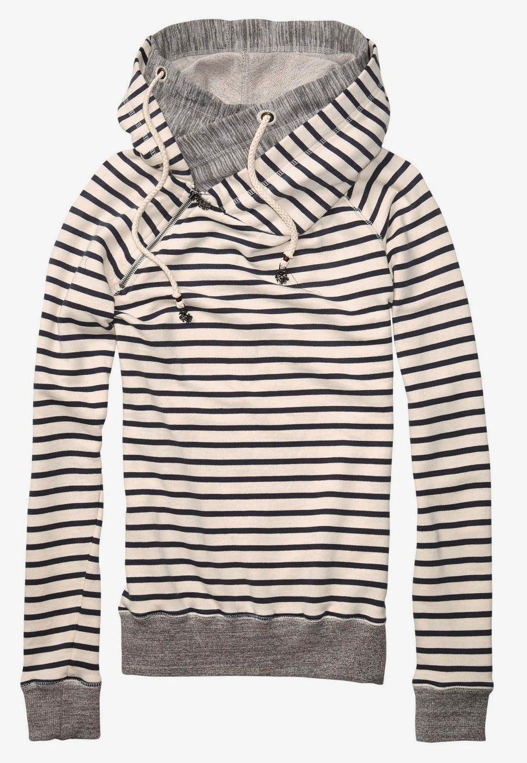 Like this, no stripes though! Cute stripe print sweater with ...