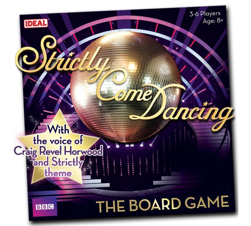 Buy Strictly Come Dancing Game Board Games Argos Board Games Strictly Come Dancing Dance Games