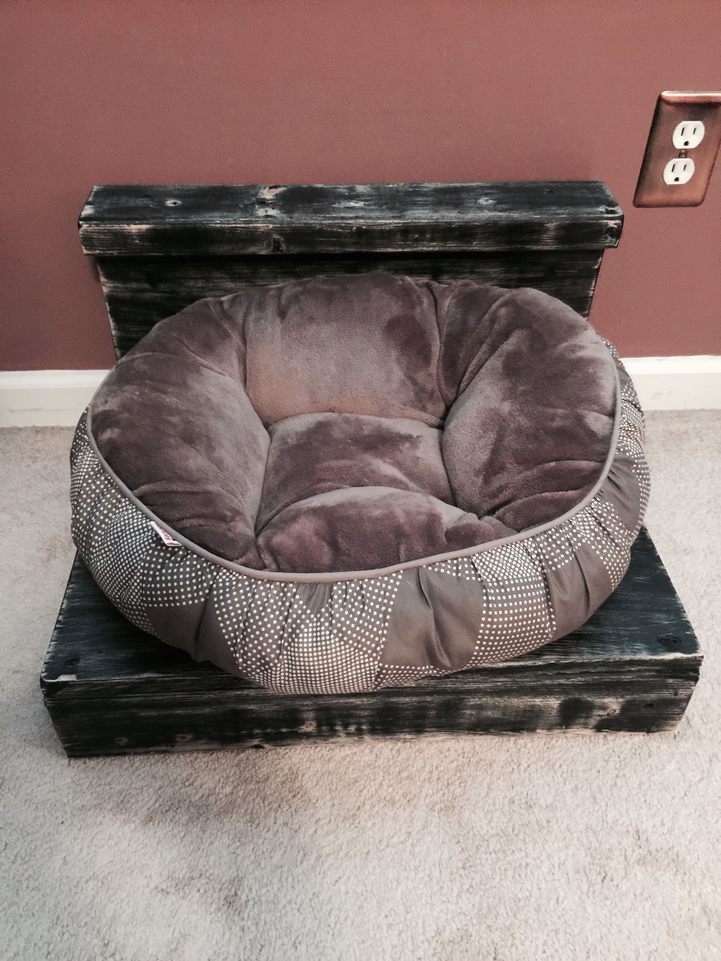 Tremendous Diy Dog Bed Made From 2X4S My Diy Builds Diy Dog Bed Inzonedesignstudio Interior Chair Design Inzonedesignstudiocom