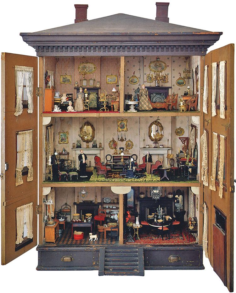 Antique Doll House Book The Small World Of Antique Dolls