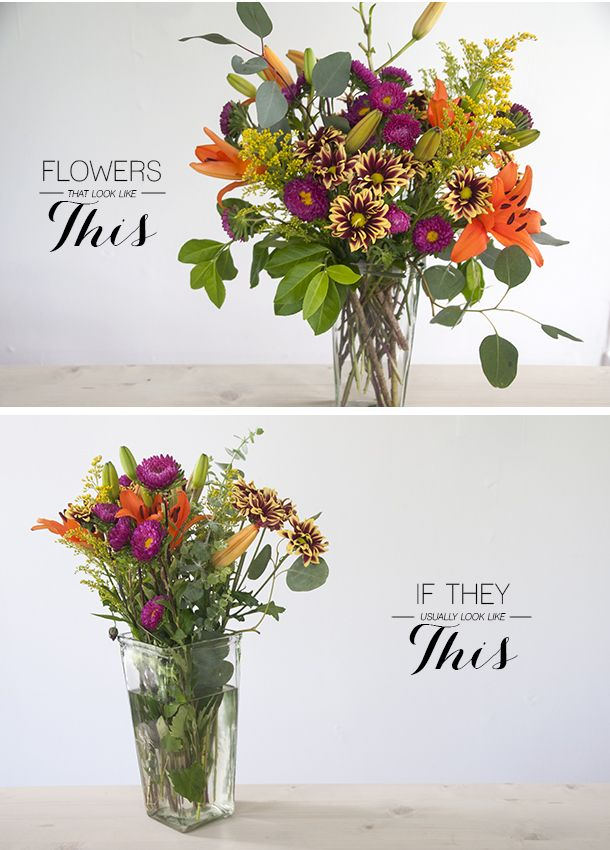 How To Arrange Grocery Flowers Look Like They Were From A Florist Plus Lots Of Other Great Flower Arranging Tips In This Blog Nx