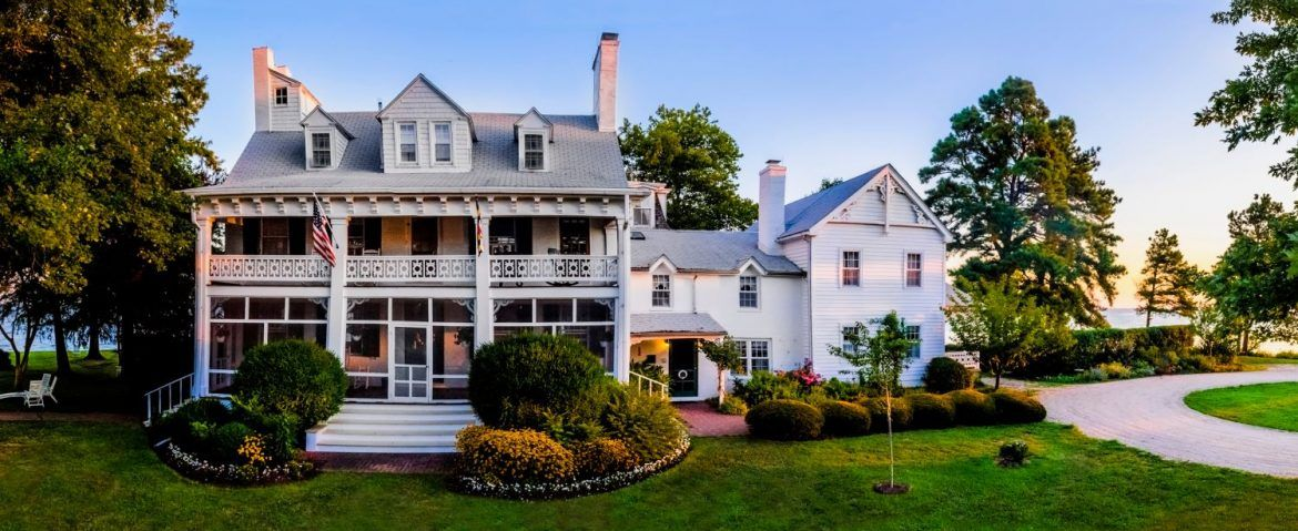 St Michaels Md Bed And Breakfast Inn Wades Point Inn On The Bay Bed Breakfast Maine House House Styles
