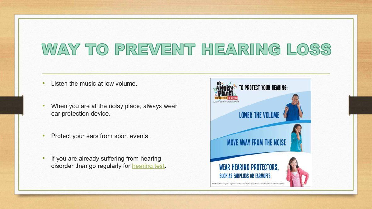 Hearing loss is the problem which may occur at any age of