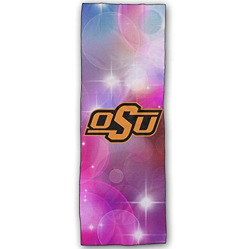 Oklahoma State Cowboys Logo Yoga Mat Towel Want To Know More Click On The Image This Is An Affiliate Link Yog Yoga Mat Towel Logo Yoga Yoga Accessories