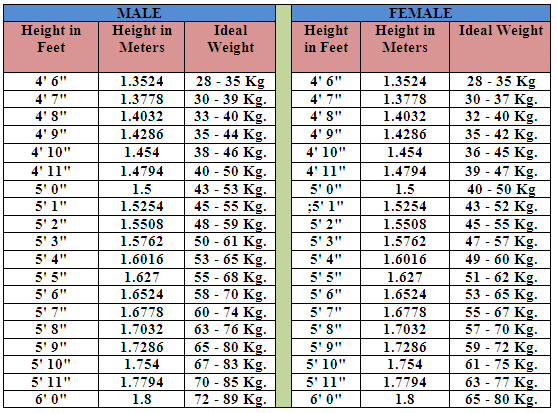 The 12 Week Weight Losing Marathon Part Ii Ana S Journal Hight And Weight Chart Weight Charts Height To Weight Chart