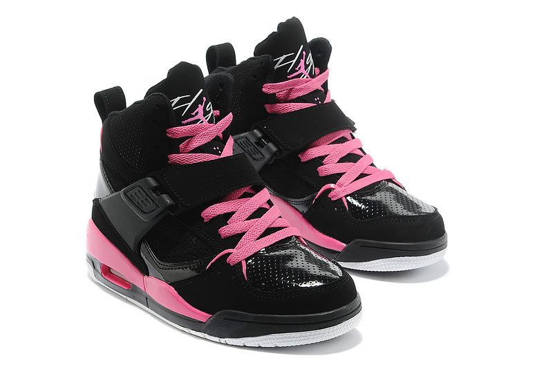 air jordan flight 45 femme noir et rose