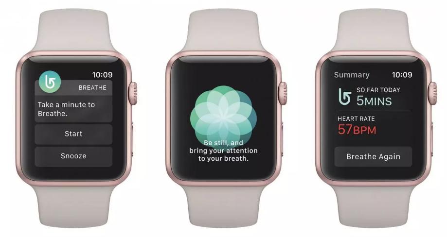 Apple Watch Breathe app applewatch apple app wearables