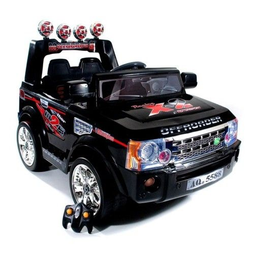 Ice White Kids Electric 12v Ford Focus RS Ride On Car (With