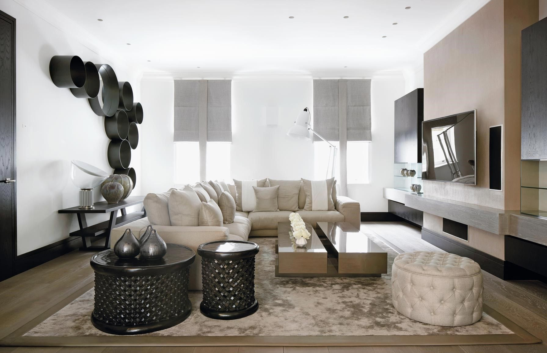 10 kelly hoppen living room ideas modern interiorsdesign