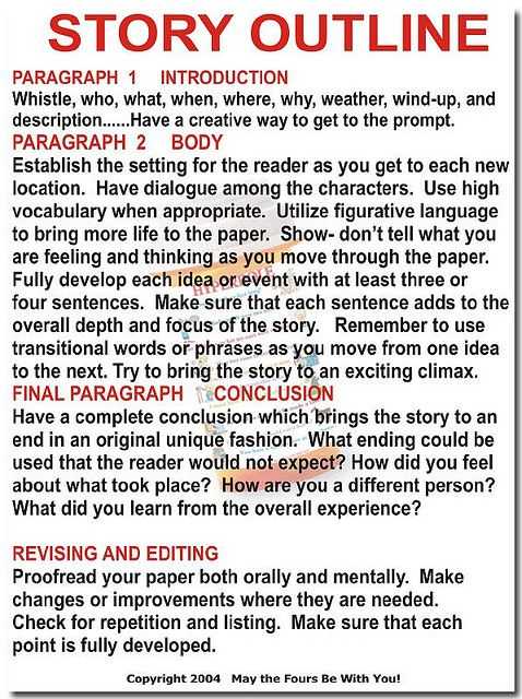 Story Outline Writing Story outline, Teaching writing, English