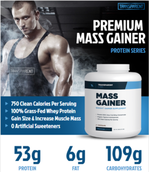 The new Transparent Labs Mass Gainer shows the popular underground brand's latest move:  https://blog.priceplow.com/supplement-news/transparent-labs-mass-gainer 110% Label Transparency, while keeping it 100% natural! NutraBio is no longer the only one!  Transparent Labs did miss one thing, though: What grade of WPC is this??? We'll let everyone else comment on them macros! #TransparentLabsMassGainer #WeightGainers