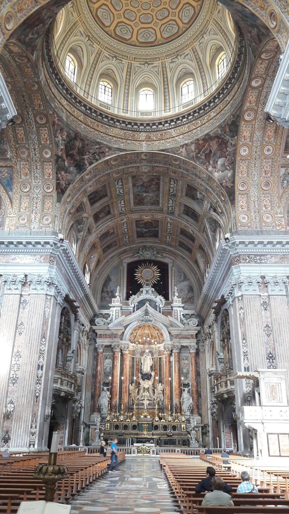 Chiesa del Gesù nuovo #napoli #turismo #italia