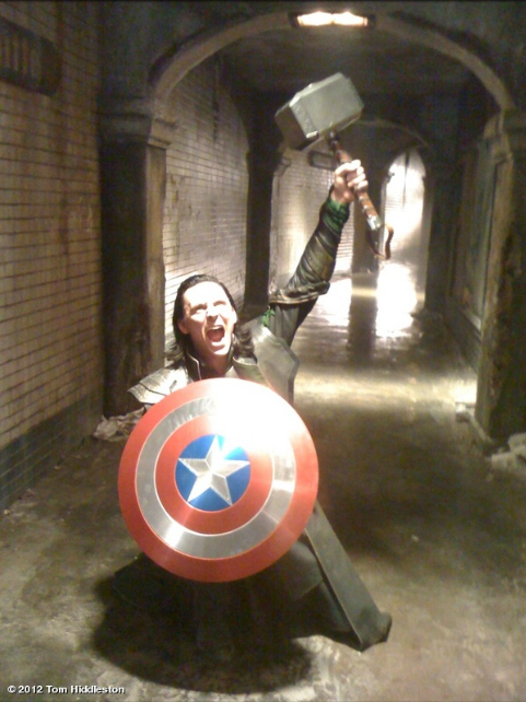I am Burdened With a Glorious Props Department! | Avengers
