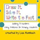 """My """"draw it, solve it, write the fact"""" SmartBoard lessons have been so popular, I am posting this addition for free as a thank you to all my custom..."""