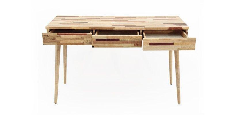 console bureau design natura en marqueteriedimensions hauteur 75 cm longueur 120 cm profondeur - Console Bureau Design