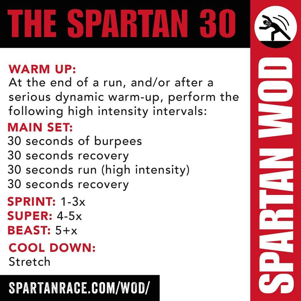 THE SPARTAN 30